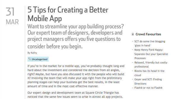5 Tips for Creating a Better Mobile App