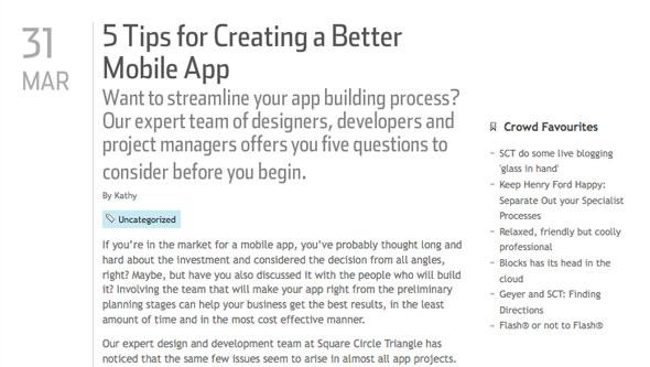 5 Tips for Creating a Better Mobile App