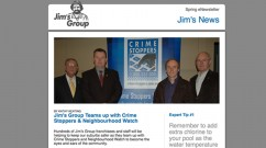 Spring 2011 edition of the Jim's Group Newsletter