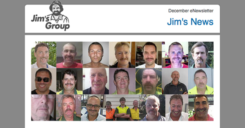 Summer 2011 edition of the Jim's Group Newsletter